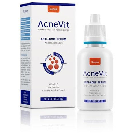 AcneVit Anti-Acne Skin Perfecting Serum with Vitamin C & Niacinaminde