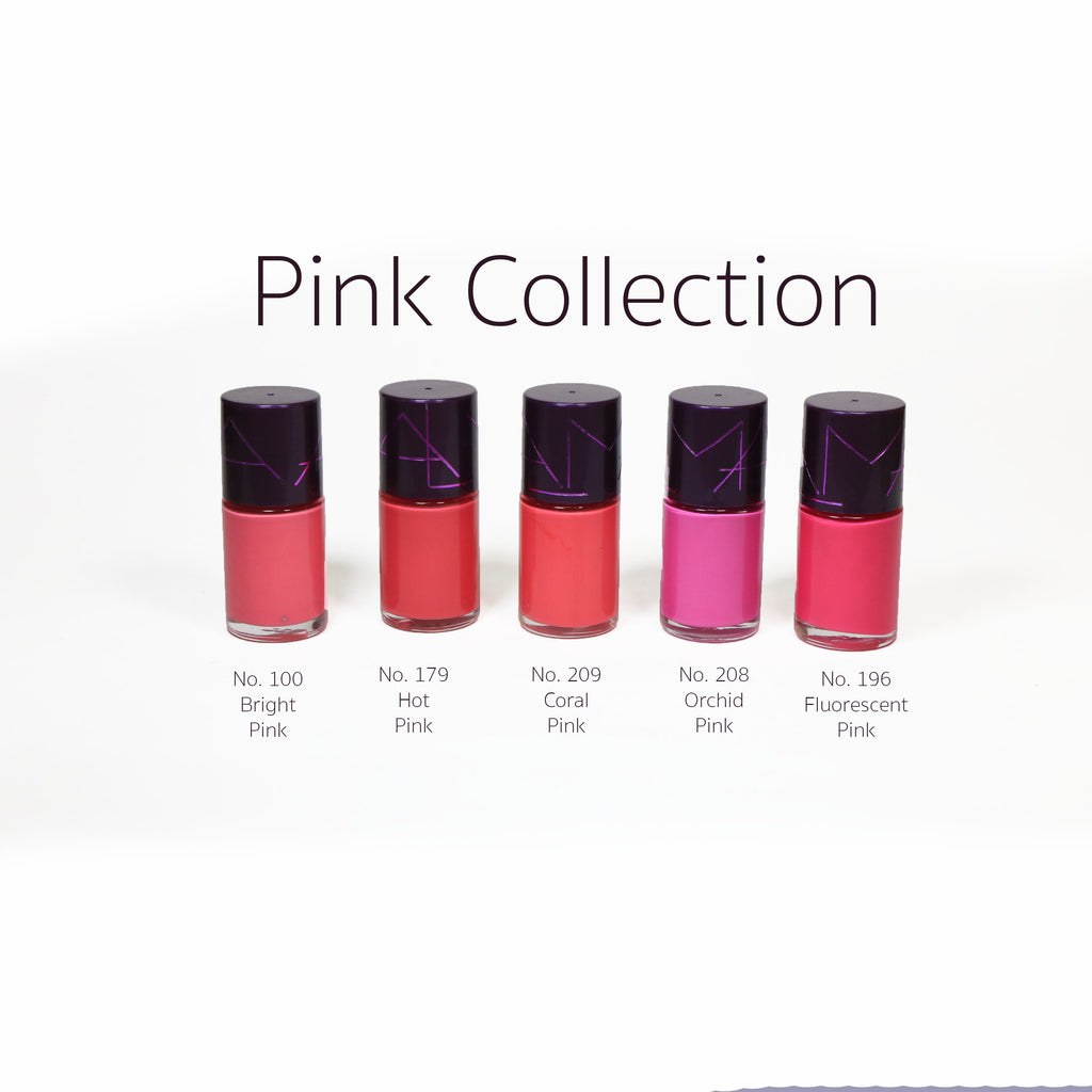 Alma Nail Polish - Pink Collection