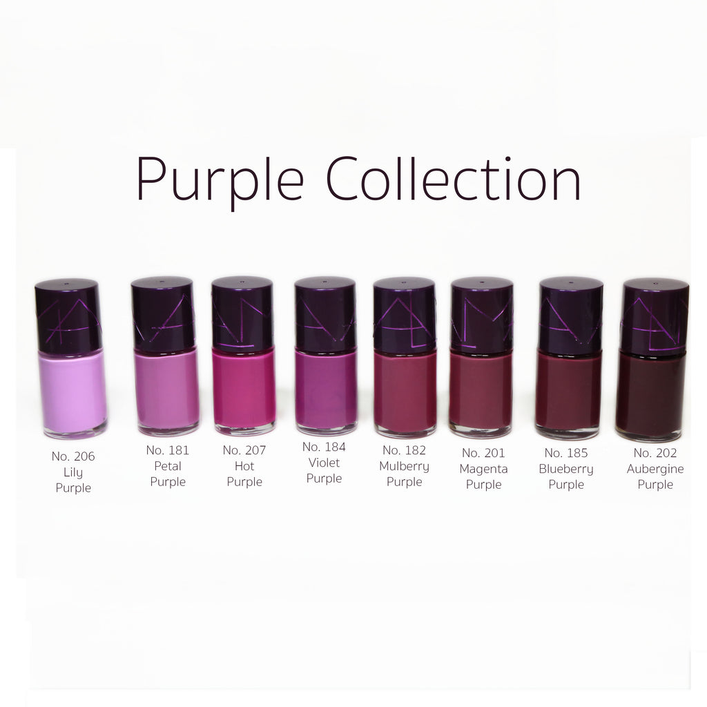 Alma Nail Polish - Purple Collection