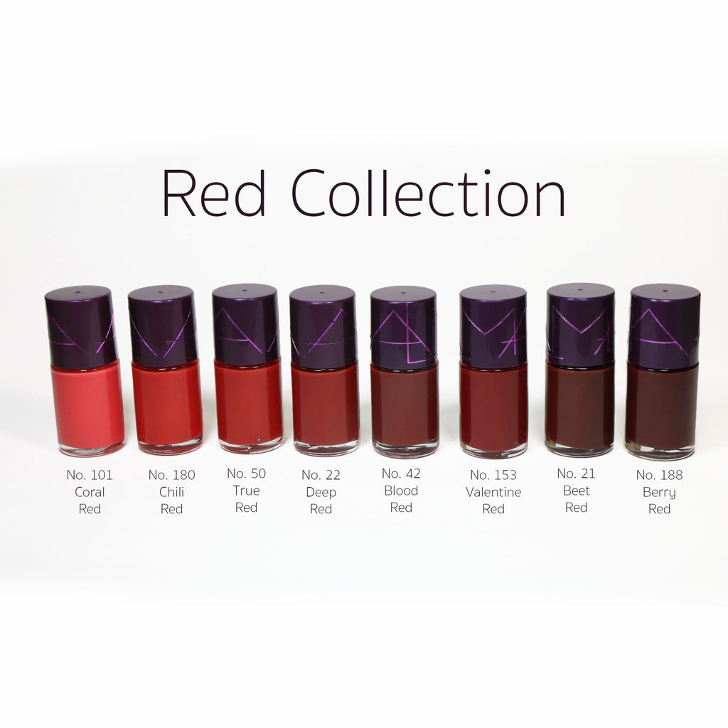 Alma Nail Polish - Red Collection