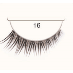Andrea Strip Lashes # 16 - Black/Brown