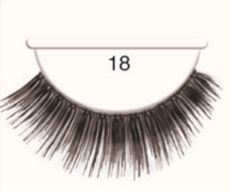 Andrea Strip Lashes # 18 - Black