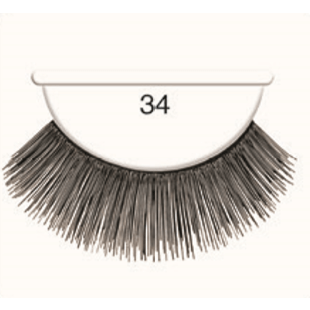 Andrea Strip Lashes # 34 - Black