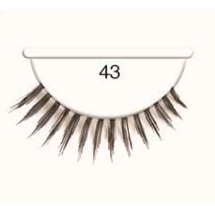 Andrea Strip Lashes # 43 - Black