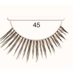 Andrea Strip Lashes # 45 - Black