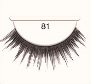 Andrea Strip Lashes # 81 - Black