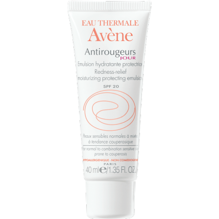 Avene Redness-Relief Moisturizing Protecting Emulsion 40ml - For Sensitive Skin