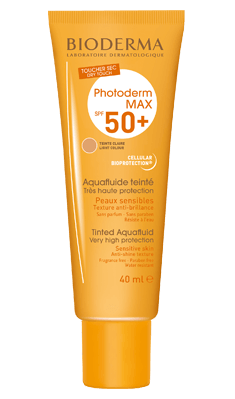 Bioderma Photoderm Aquafluid Tinted Spf 50+ 40ml
