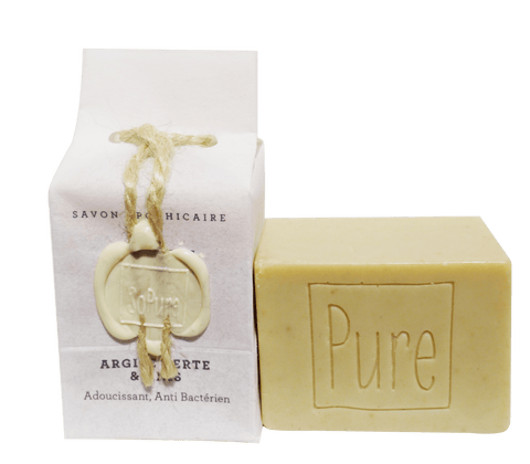SoPure Soap Green Clay & Anise - Antibacterial & Soothing 130g