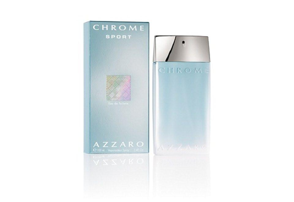 Azzaro Chrome Sport Eau De Toillette For Men 100 ml