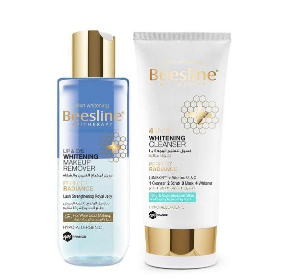 Beesline Whitening Facial Cleansing Night Routine
