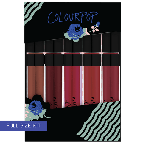 Colourpop Blues Baby - Lip bundle