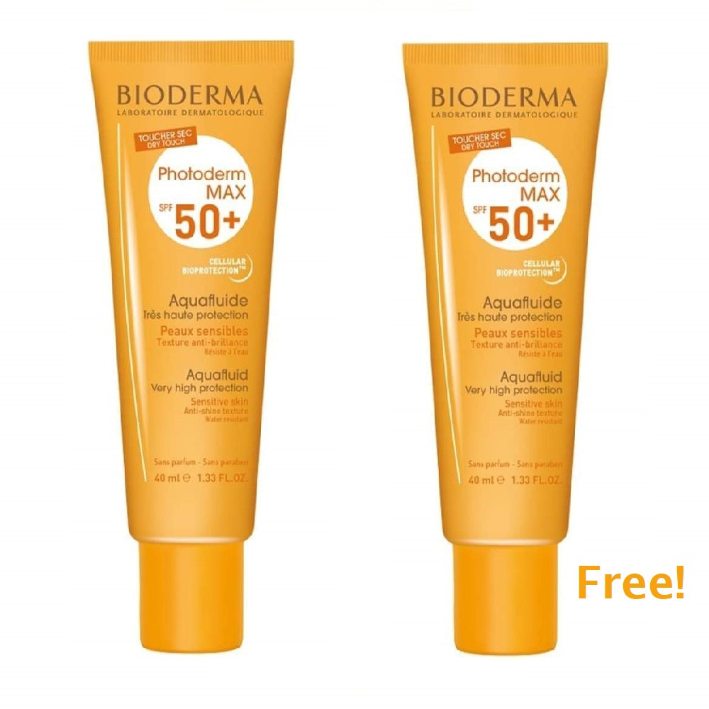 Bioderma Summer 2020 Offer Photoderm Max AquaFluide SPF 50+ - Buy One Get One Free
