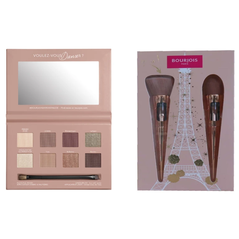 Bourjois Brush & Palette Bundle: Buy a Palette Get A Free Brush Set