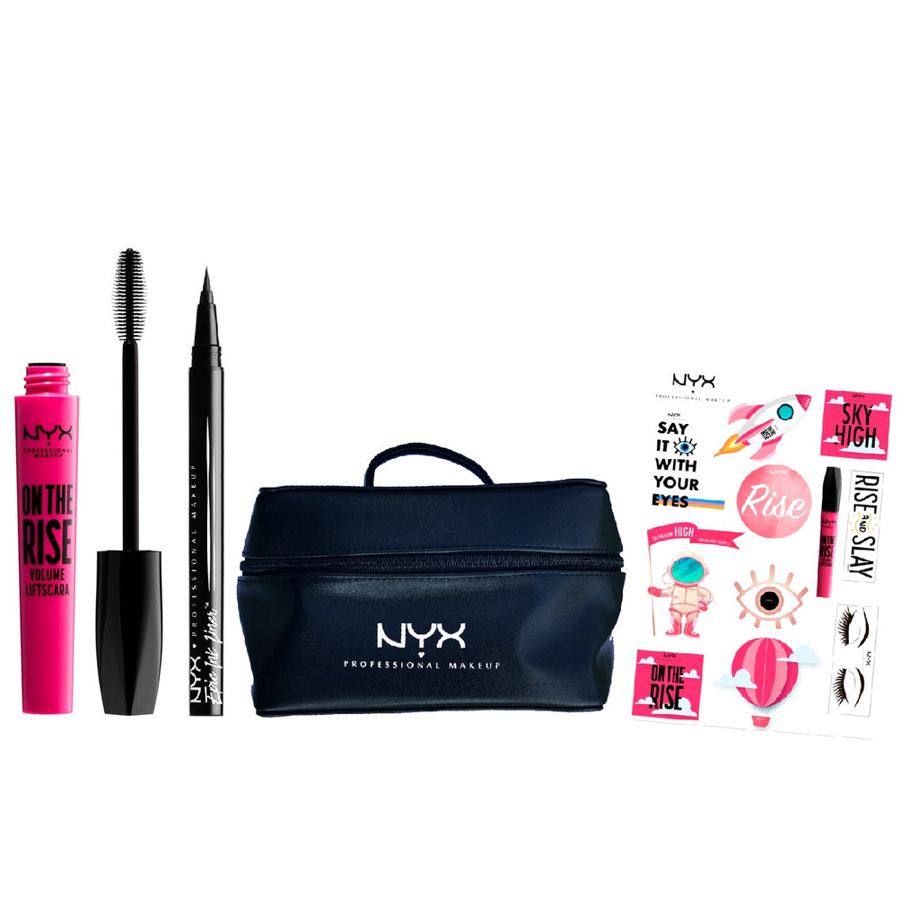Nyx Professional Makeup On The Rise Vegan Bundle - Epic Ink!