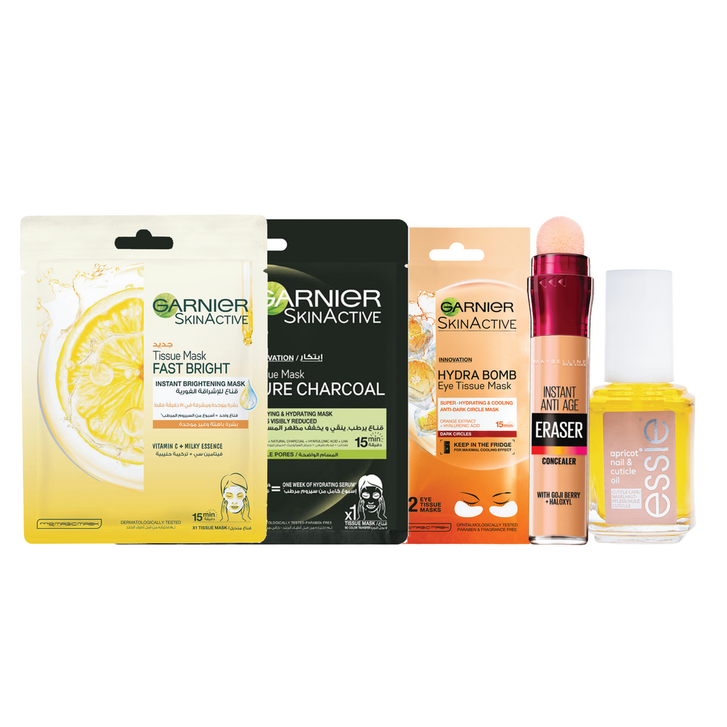 Garnier Stay At Home Pamper Yourself Bundle 10% Off!