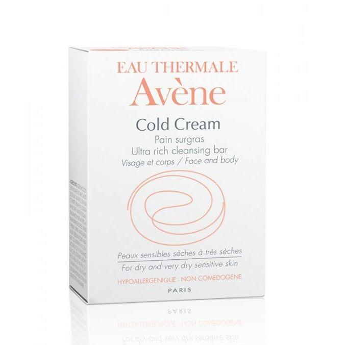 Avene Cold Cream Ultra rich Cleansing Soap - For Dry Skin