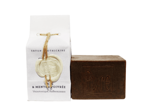 SoPure Soap Coffee & Peppermint - Exfoliate & Tonify 130g