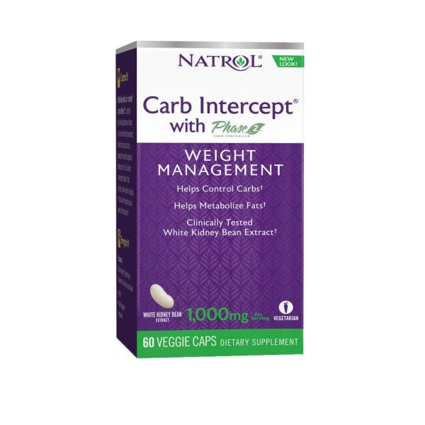 Natrol Carb Intercept 2 Weight Management Supplement