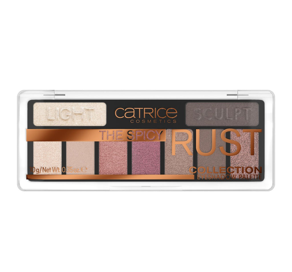 Catrice The Spicy Rust Eyeshadow Palette