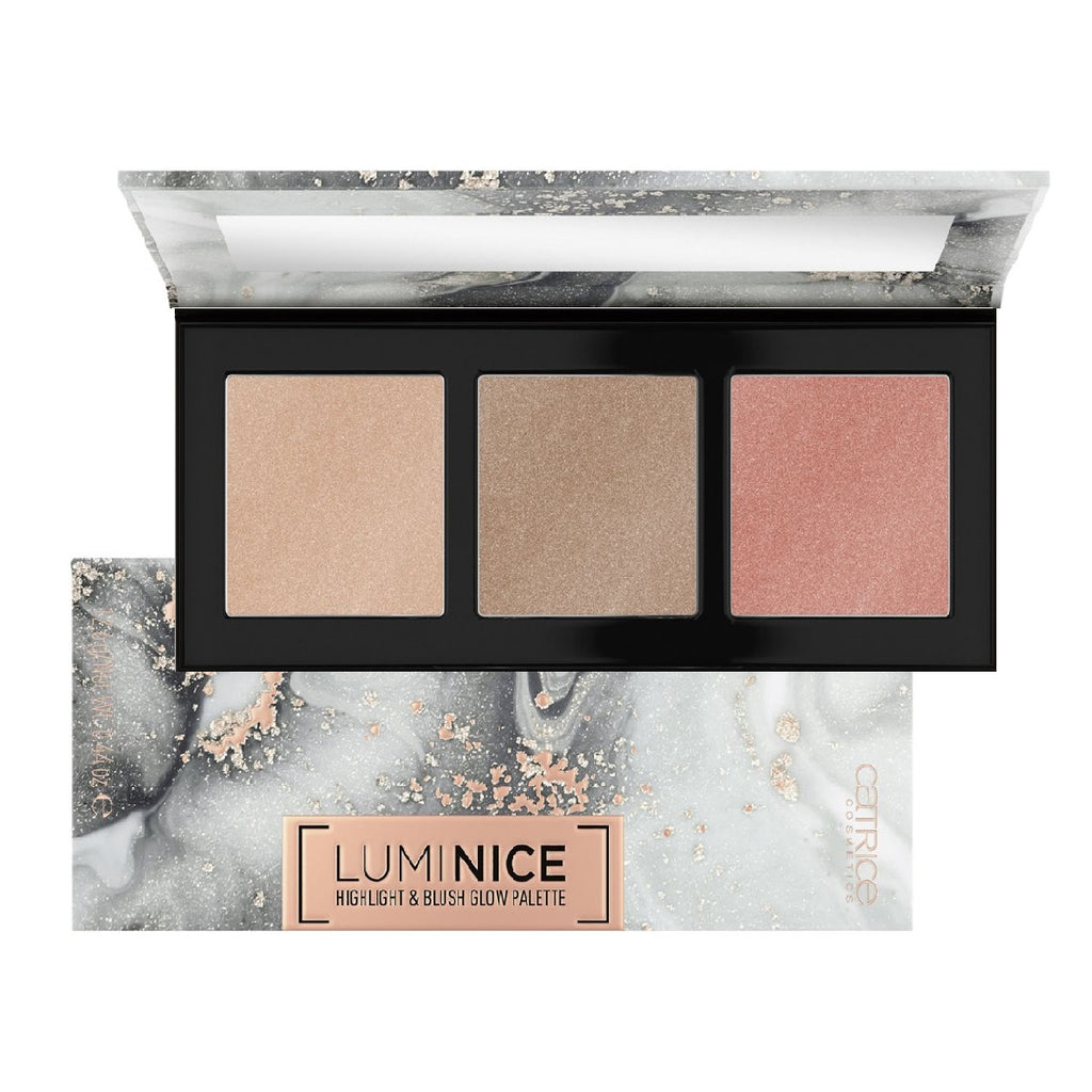Catrice Luminice Highlight & Blush Palette