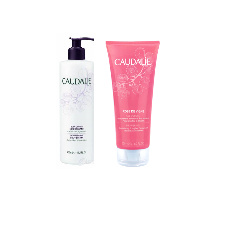 Caudalie Duo Nourishing Body Lotion & Shower Gel