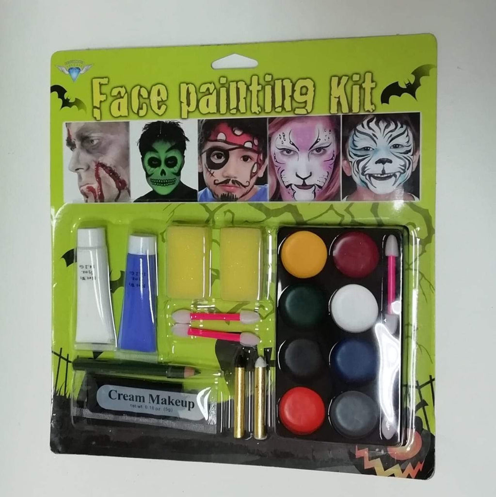 Halloween Large Face & Body Painting Kit