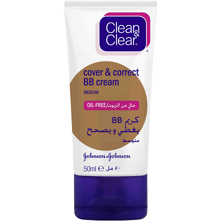 Clean & Clear Cover & Correct BB Cream