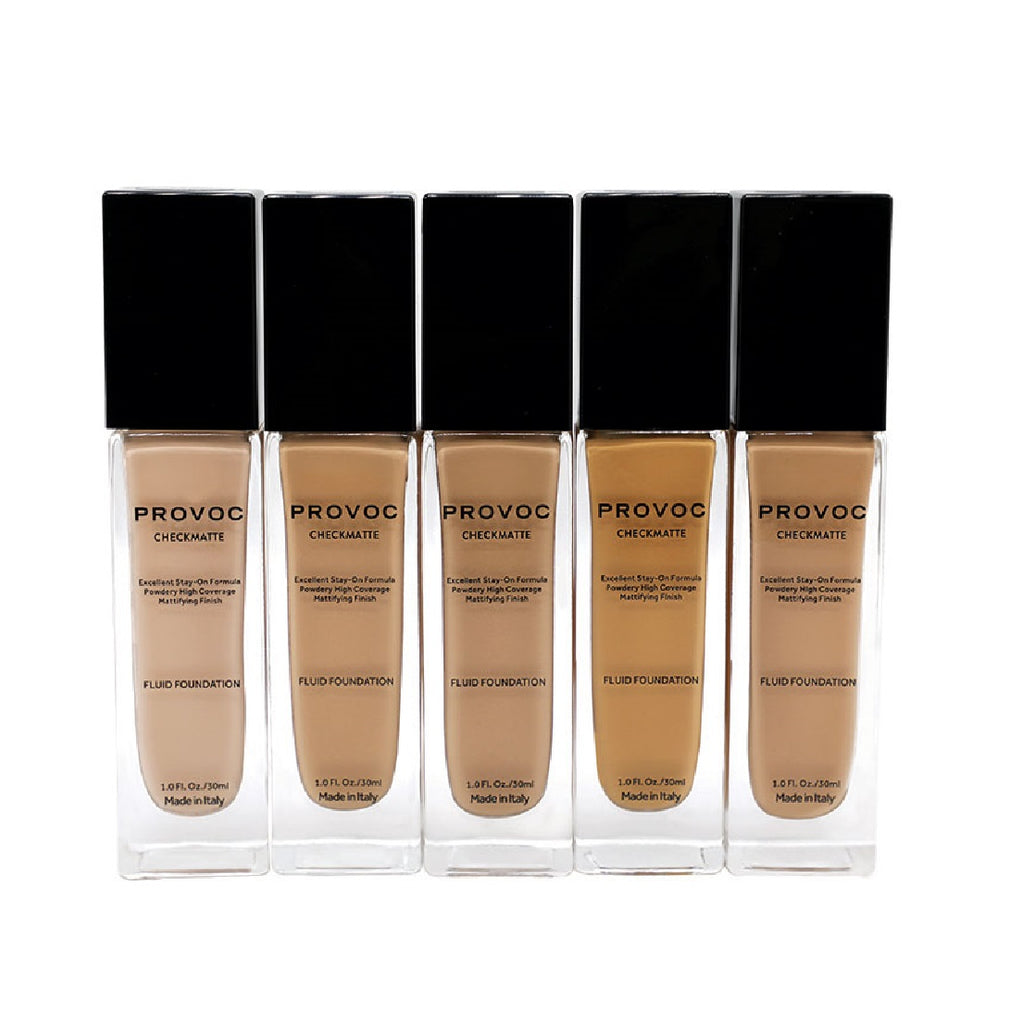 Provoc Checkmate Fluid Foundation - Mattifying Finish