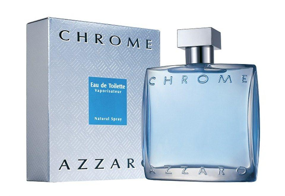 Azzaro Chrome Eau De Toillette For Men