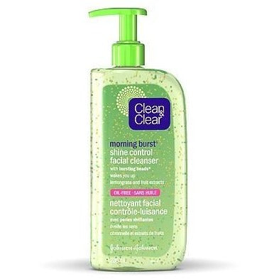 Clean & Clear Morning Energy Shine Control Wash