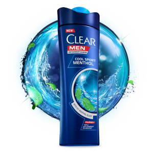 Clear Men Cool Sport Menthol Anti-Dandruff Shampoo - 360ml