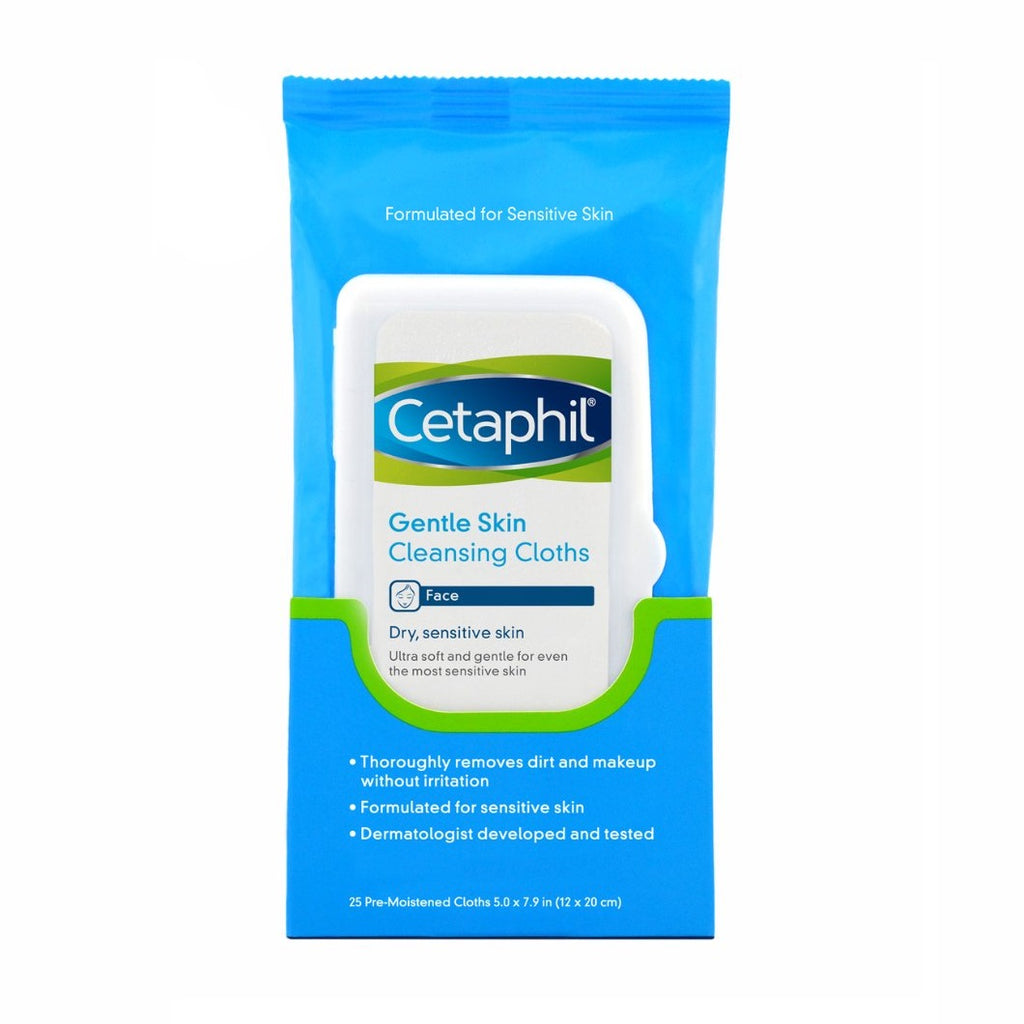 Cetaphil Gentle Skin Cleansing Cloths - Face Wipes