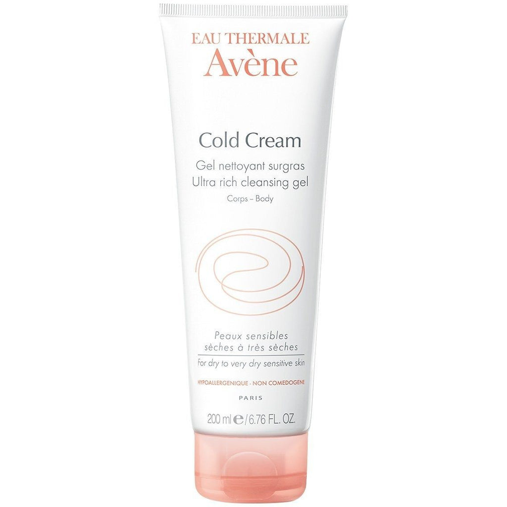 Avene Cold Cream Ultra-Rich Cleansing Gel 200ml - For Dry Skin