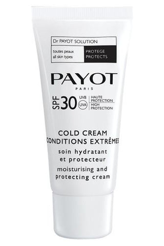 Payot Cold Cream Conditions Extremes SPF30 - Moisturising Protective Cream