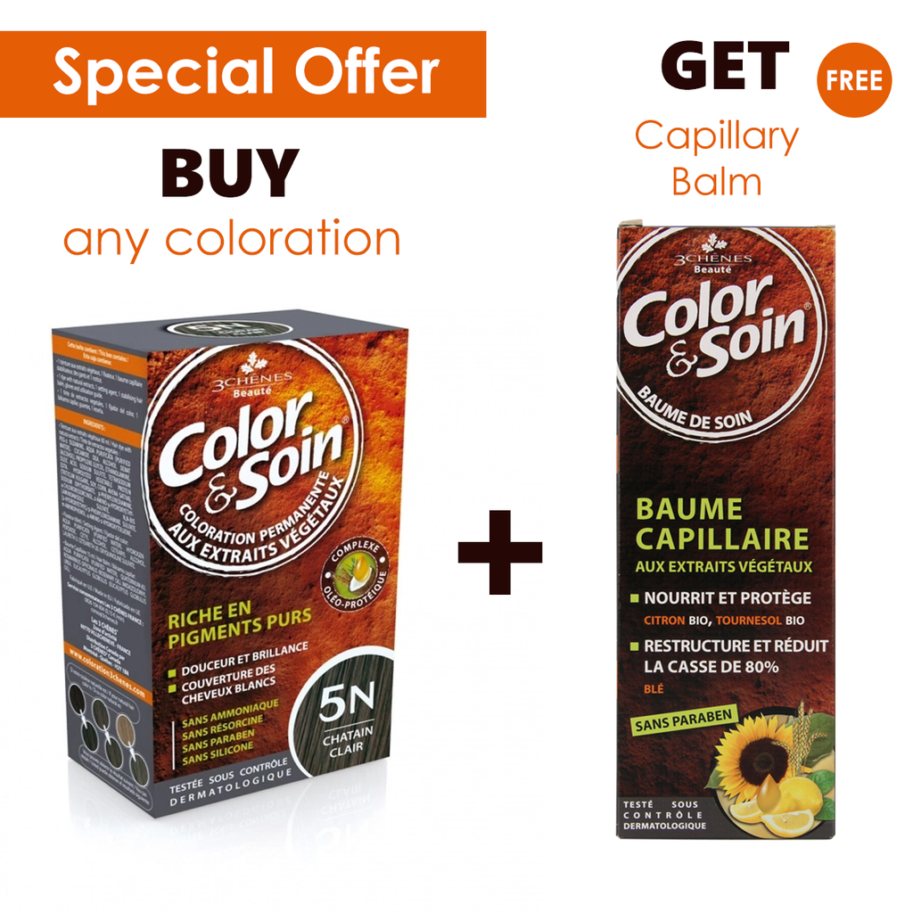 Color & Soin Permanent Hair Coloration + Free Capillary Balm