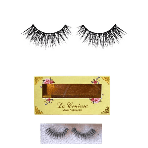 La Contessa Lashes Human Hair Collection Marie Antoinette - 15 uses