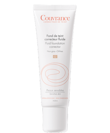 Avene Couvrance Fluid Foundation Corrector Spf15 30Ml