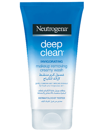 Neutrogena Deep Clean Make-Up Remover Creamy Wash