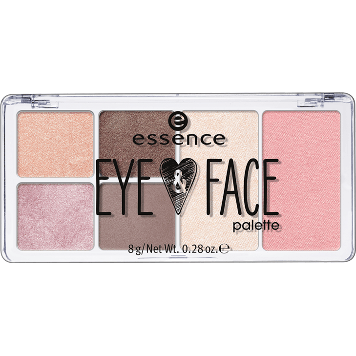 Essence Eyes and Face Palette 01 Glow for it