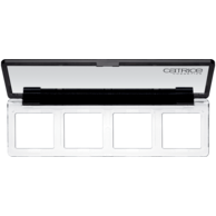 Catrice Art Couleurs Collection Empty Palette with Mirror - Fits any Catrice Single Shadow