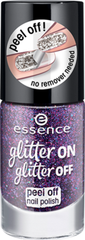 Essence Glitter On Glitter Off Peel-Off Nail Polish