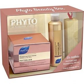 Phyto PhytoElixir Set: Hair Mask, Elixir Shampoo & Cleansing Cream