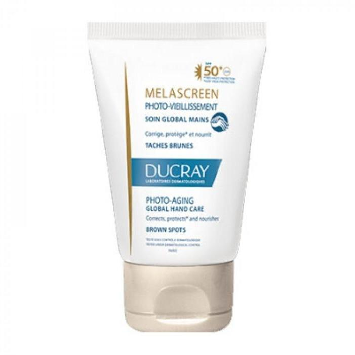 Ducray Melascreen  Global SPF50+ 50ml Hand Cream Against Brown Spots