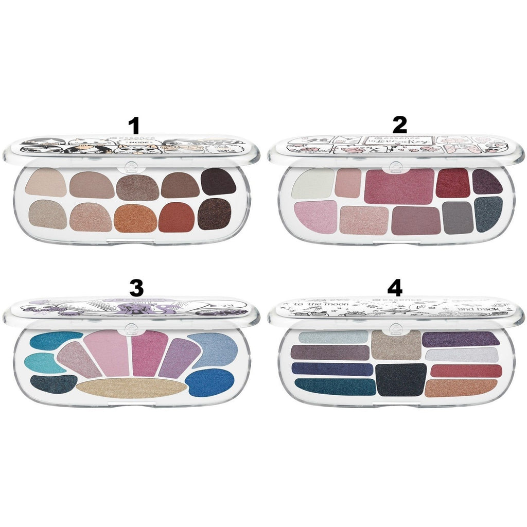 Essence Storyteller Eyeshadow Palettes