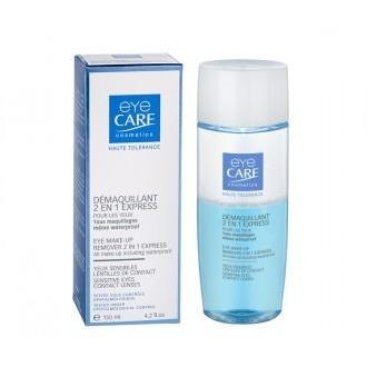 Eye Care Eye Make-Up Remover 2 In 1 Express - 150ml