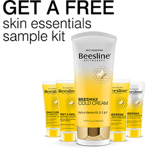 Beesline Beeswax Cold Cream Offer - with Free Skin Essential Sample Kit!