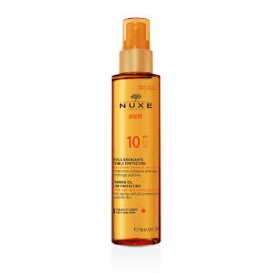 Nuxe Sun Tanning Oil SPF10 Spray 10ml