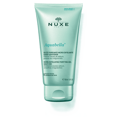 Nuxe Aquabella Micro-Exfoliating Purifying Gel Daily Use