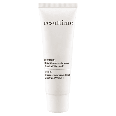 Resultime Microdermabrasion Scrub with Quartz and Vitamin E